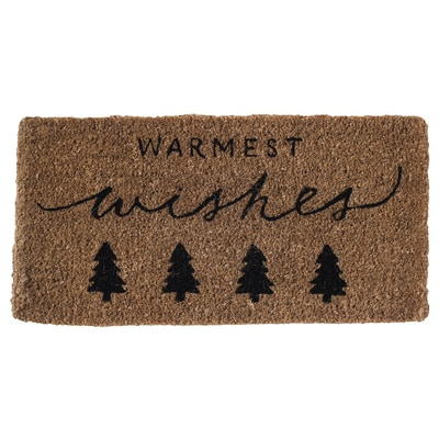 Warmest Wishes Doormat