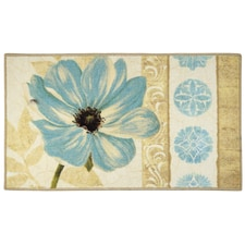 Floral Garden Rectangle Rug