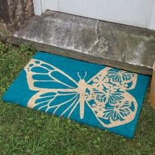 Butterfly Coir Mat