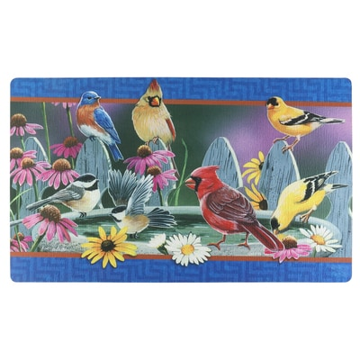 Bird Bath Meeting Mat