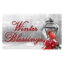 Winter Blessings Rug