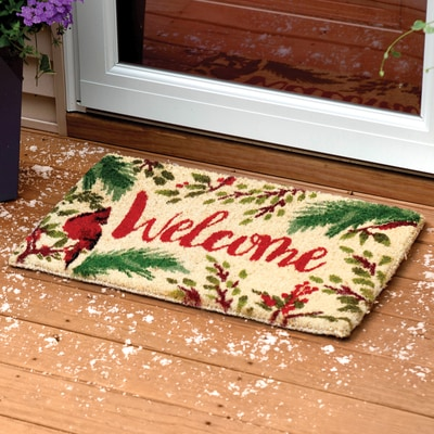 Cardinal Welcome Coir Mat