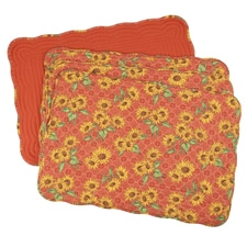 Tuscan Elegance Quilted Placemat Set