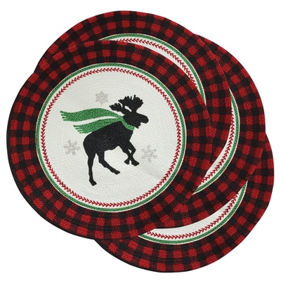 Christmas Moose Placemats