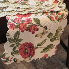 Quilted Kitchen Table Runner