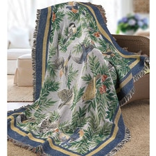 Songbirds Tapestry Throw