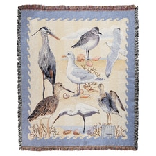 Coastal Tapestry Throw