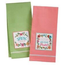 Spring Bloom Towel Set