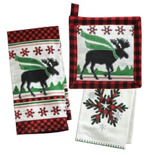 Christmas Moose Kitchen Set