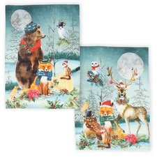 Woodland Towels Set