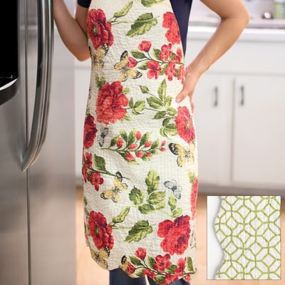 Quilted Kitchen Apron
