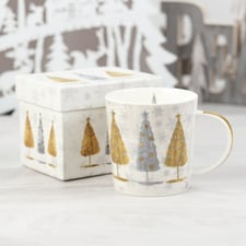 Trees Holiday Mug