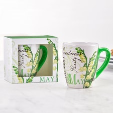 Birthday Flower Mug - May