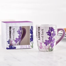 Birthday Flower Mug - July