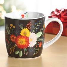 Golden Bloom Mug