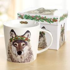 Wolf Gift Boxed Mug