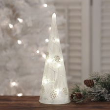 LED Glass Tree - 9 3/4