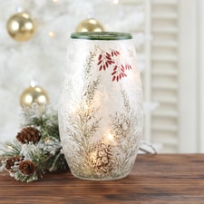 Pine Cones Luminary