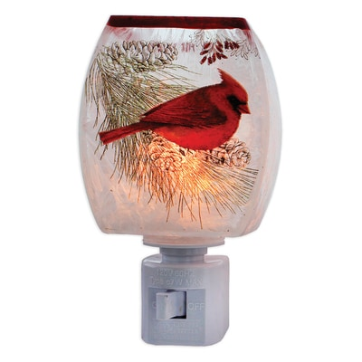 Cardinal Winter Night Light