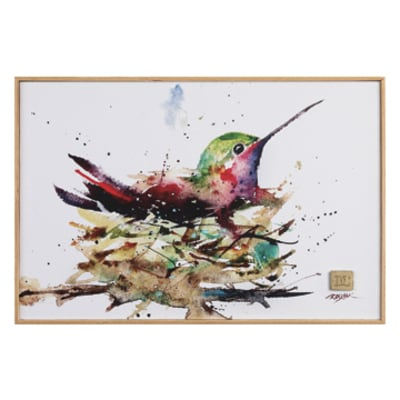 Hummingbird Nest Wall Art