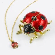 Ladybug Treasure Box