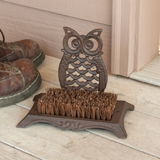 Owl Boot Scrubber