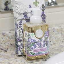 Lavendar and Rosemary Hand Soap & Napkin Set