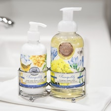 Tranquility Soap & Lotion Caddy