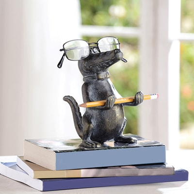 Alligator Eyeglass Holder