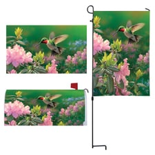 Hummingbird Outdoor Décor Set