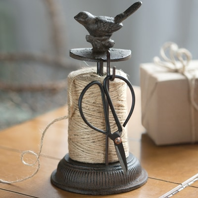 Songbird Twine Holder and Scissors