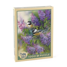 Chickadees and Lilacs Puzzle