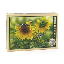 Sunflowers and Goldfinches Puzzle
