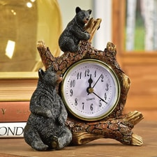 Bear Table Clock