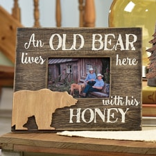 Old Bear Rustic Frame
