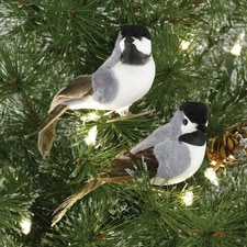 Chickadee Clip Ornaments