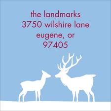 Winter's Wonders Address Label Sheet