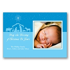 Bright Blessing Photo Panel Card