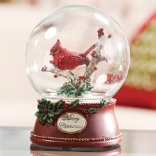Decorative Cardinal Globe