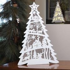Laser Cut Light-Up Tree
