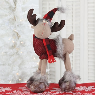 Standing Whimsical Moose