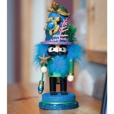 Sea Turtle Hat Nutcracker