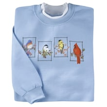 All Seasons Birds Pullover
