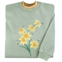 Daffodil Buzz Pullover