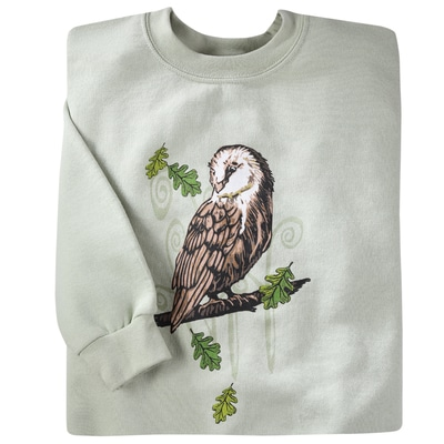 Woodland Owl Pullover