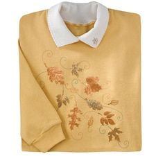 Cascading Leaves Pullover