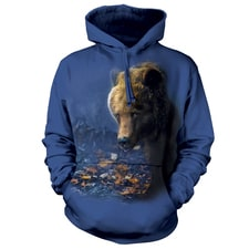 Foraging Bear Hooded Sweatshirt