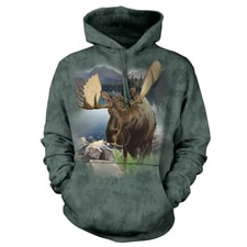 Monarch of the Forest Hooded Sweatshirt