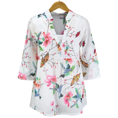 Garden Beauties Tunic