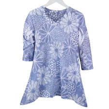 Floral Sketch Tunic